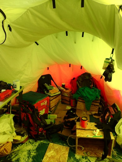 Our messy tent © www.elizabeth-erickson.com