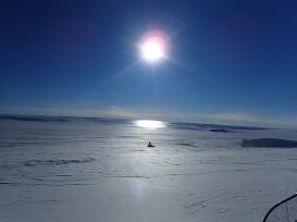 Looking out on the Polar Plateau © www.elizabeth-erickson.com