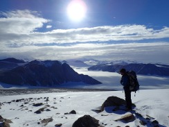 We're mountaineering on a glacier © www.elizabeth-erickson.com